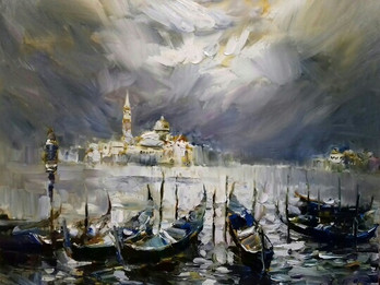 Personal exhibition of paintings by Andrei Figol