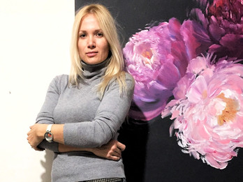 Art-talks with artist Julia Poruchnyk about her new exhibition and sources of inspiration