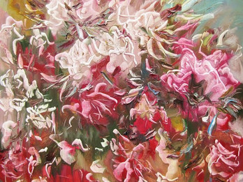 """Opening of the personal exhibition by Lubomyr Martynuk """"The blooming garden"""""""
