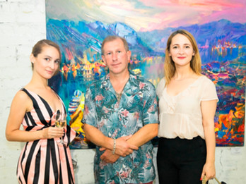 Lera Litvinova Gallery presented new exhibition by Andrey Figol of landscape paintings from private