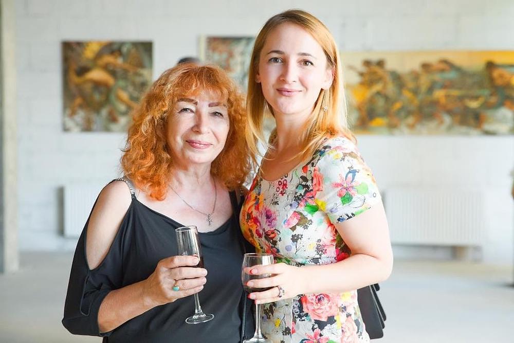 Natalia Papirna and Lera Litvinova