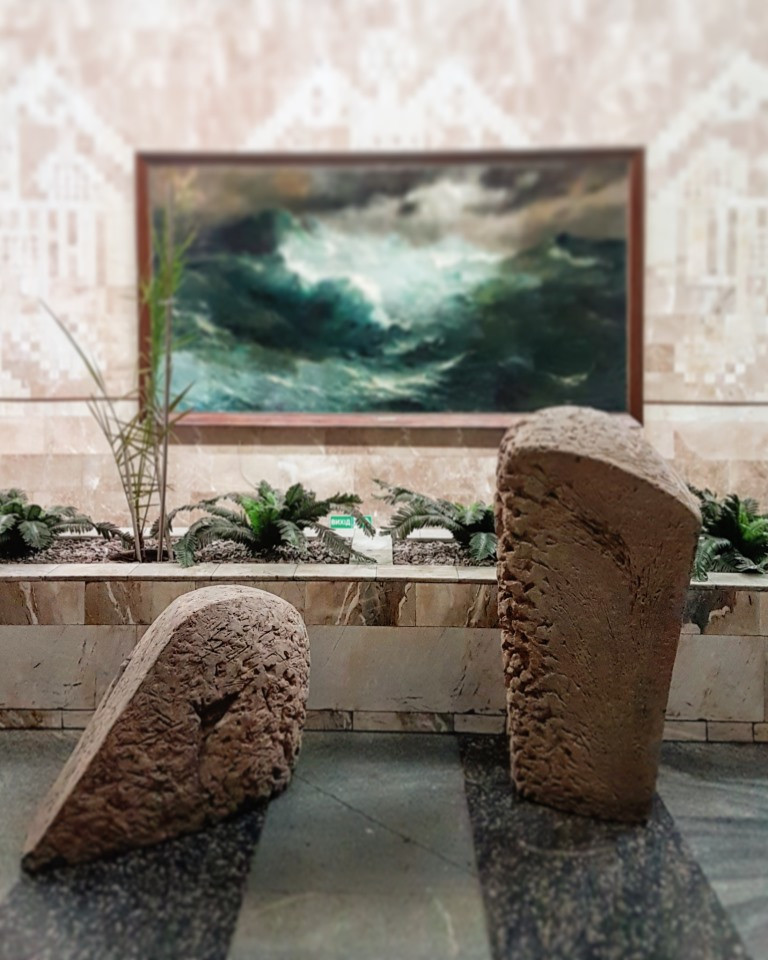 "Art project ""Perfectionism"" by Lera Litvinova Gallery and TV center ""Karandash"""