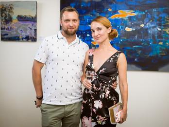 "New exhibition by Semen Shcherbyna ""Landscape.Ukraine"" was opened at Lera Litvinova Galler"