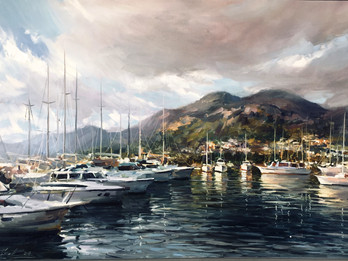 """Opening of personal exhibition by Andrei Figol """"Landscape paintings from private collection&quo"""