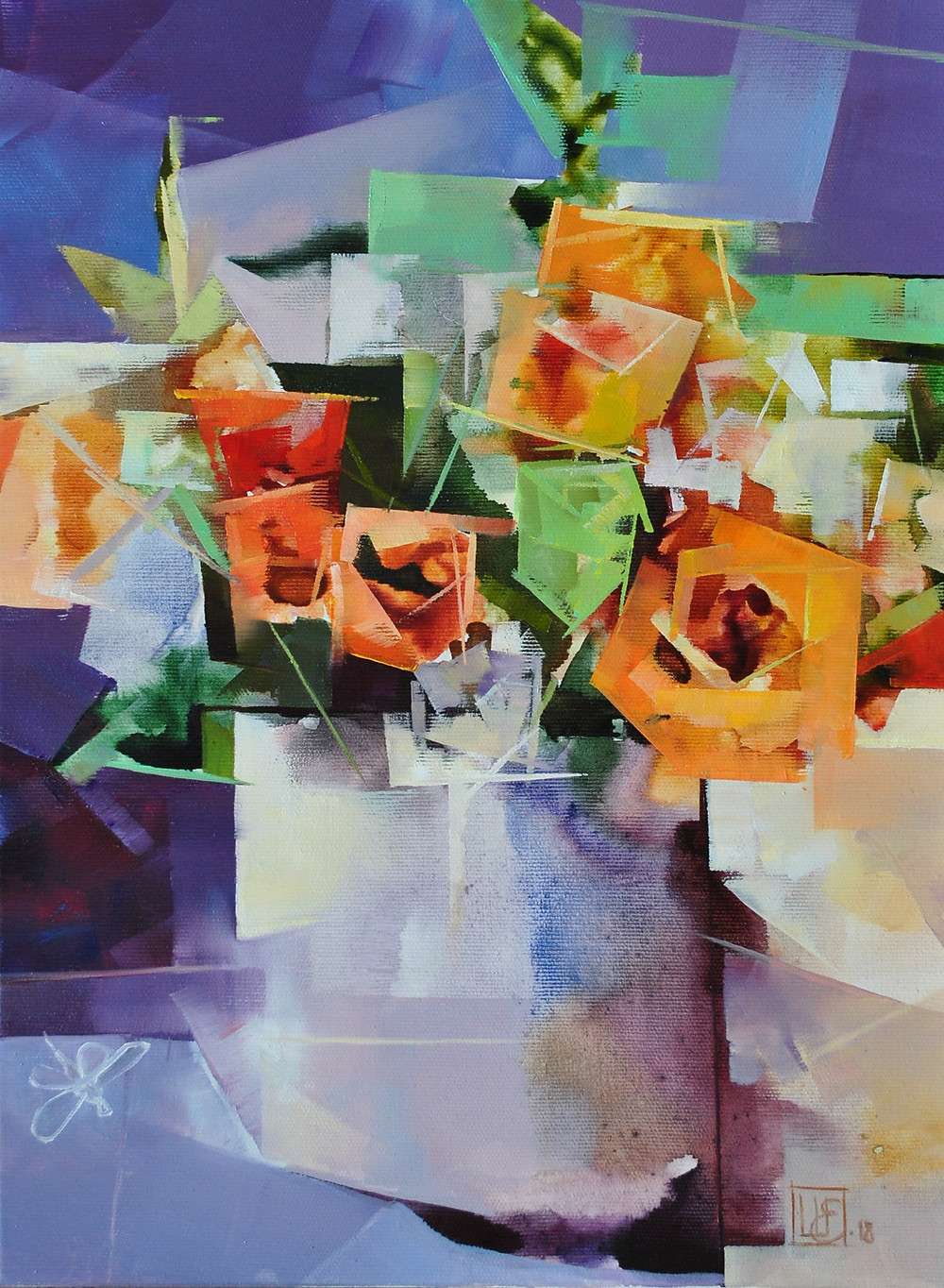 "Evgeniy Shapovalov exhibition ""Nude in Flowers"""
