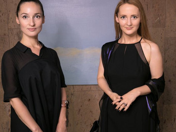 Lera Litvinova opens exhibition Placidity in Central House of the Artists