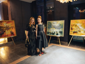 The first presentation of the joint project of LERA LITVINOVA GALLERY and KAN Development  ART HALL