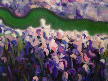 Art exhibition SUMMER.INSIGHT by Yury Shapoval in Lera Litvinova Gallery.