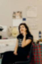 05_Erickka Patmore in her studio. Image