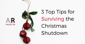 3 Top Tips for Surviving the 2019 Silly Season and the following January 2020 Cash Flow Crunch