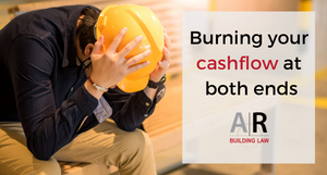 Burning your cashflow at both ends