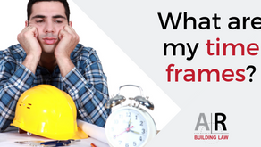 I am a subcontractor - what are my time frames under the BIF Act?
