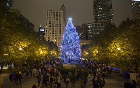 Chicago Christmas Tree 2017