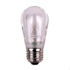 S14 Dimmable SMD LED Retrofit Bulb - Warm White - SMOOTH
