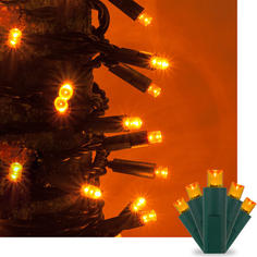 Amber Kringle Traditions 5MM LED