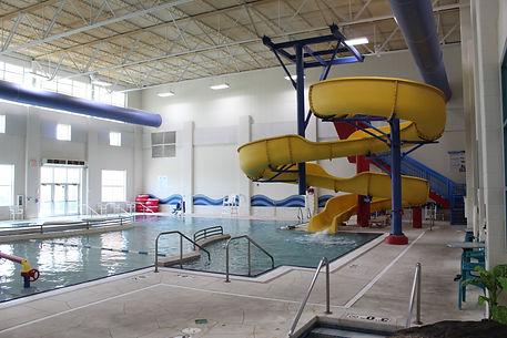 Aquatic Center Leisure Pool & Slide