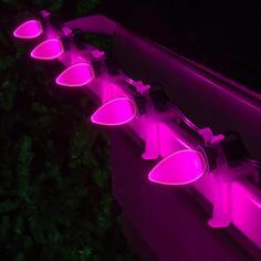 Pink C7 LED Smooth