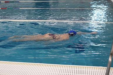Lap Lane Swimmer