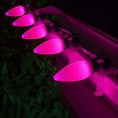 C9 LED Pink Smooth OptiCo