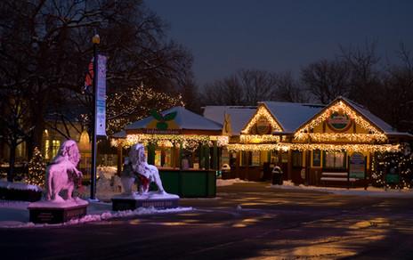 Holiday Decor at the Brookfield Zoo