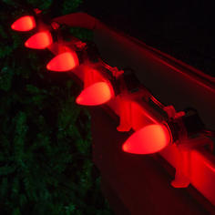 Red C7 LED Smooth