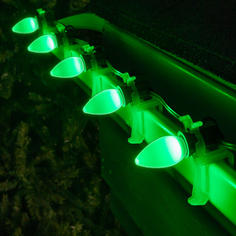 Green C7 LED Smooth