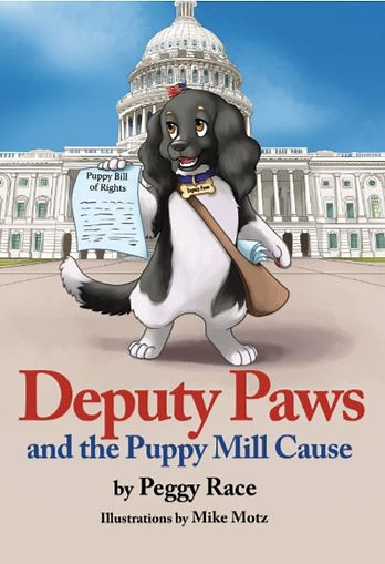 Deputy Paws and the Puppy Mill Cause Book Cover
