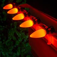 C9 LED Amber Smooth OptiCo
