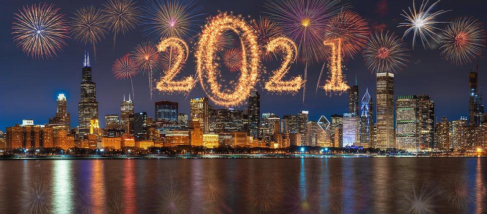 2021 Fireworks over Chicago