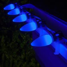 C9 LED Blue Smooth OptiCo