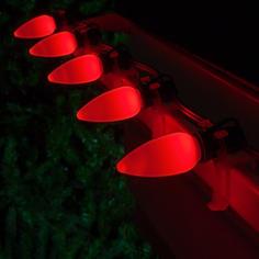 C9 LED Red Smooth OptiCo