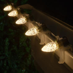 Warm White C7 LED Faceted