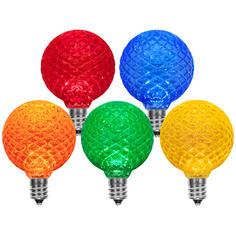LED G50 Multicolor Globe Light