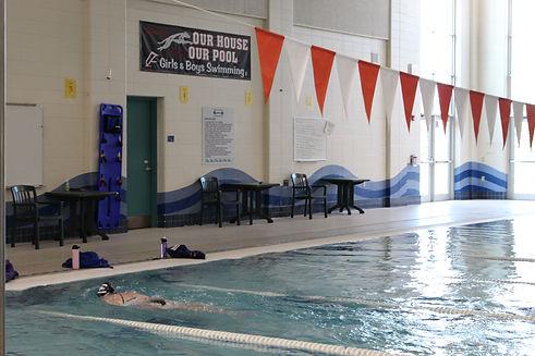 Member Swimming Laps