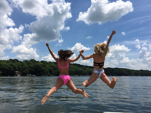 Safety First: Kids at the Lake