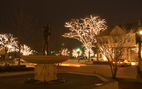 City of Lake Forest at Christmas