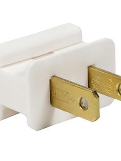 White Male Zip Plug