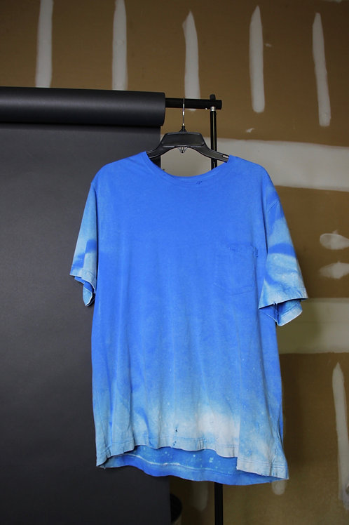 ombre blue tee