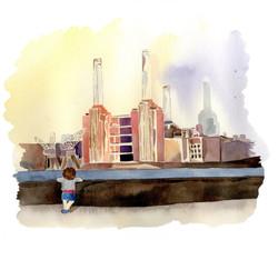 London Illustration, Architecture