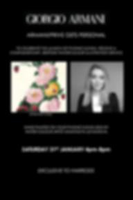 anastasiya levashova, giorgio armani artist, giorgio armani illustrator, harrods hand painted, harrods painter, live illustration, live painting, watercolour illustration service, live luxury event, live painting luxury event