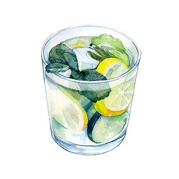 Food illustration, watercolour art, drink illustration, freelance illustrator,editorial illustration, drink illustration,
