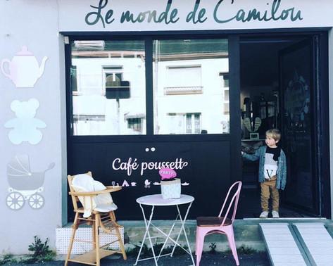 café poussette à Lorient