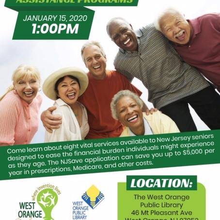 Senior Care Programs - January 15, 2020 at 1pm