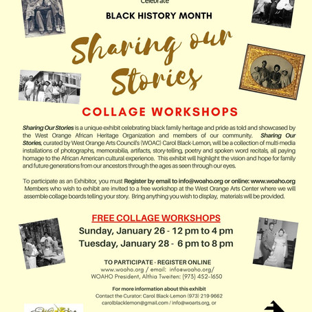 Sharing Our Stories Free Collage Workshop