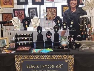 BlackLemon Art at the WO Holiday Art & Craft Fair