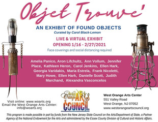 Black-Lemon to curate Objet Trouve' - An exhibit of Found Objects at the WO Arts Center Gallery