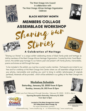 Sharing our Stories Exhibit