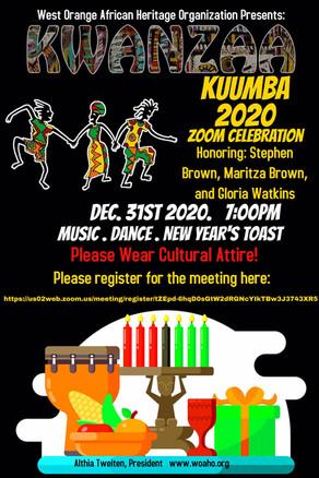 Celebrate Kwanzaa with WOAHO