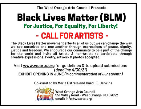 BLM Call for Artists