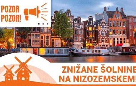 Polovične šolnine na Nizozemskem v študijskem letu 2021-22